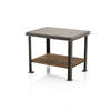 Rect. Metal & Wooden Manhole Table (55 Cm H X 68 Cm X 53 Cm) (, Vintage)