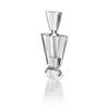 Tapered Crystal Scent Bottle & Stopper