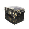 Black & Brown Marblized Jewellery Box