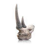 Plaster Rhino Skull