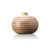 S. Thirwell Plywood & Fushia Acrylic Bulbus Vase