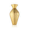 Large Gold Dimpled Biba Metal 'dita' Vase