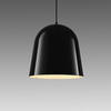 Black Gloss 'can Can' Hanging Lamp