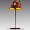 Medium Black Metal Table Lamp (47cm H)