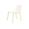 White Wooden Logica Dining Chair