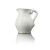 Aged White Ceramic Jug  (, Vintage)