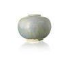 Aged Blue 'eddy' Terracotta Round Vase