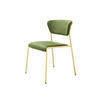 Green Velvet 'lisa' Dining Chair On Gold Frame