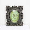 21cm X 18cm Ornate Oval Mounted Photo Frame  (Y)