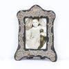 20cm X 16cm Silver Shaped Photo Frame  (Y)