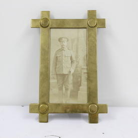 19cm  x  13cm Small Brass Photo Frame