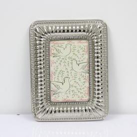 16cm X 12cm Silver Photo Frame  (Y)