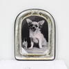 24cm X 19cm Silver Dome Top Photo Frame  (Y)