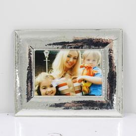 19cm  x  23cm Silver Photo Frame