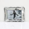 15cm X 20cm Small Glass Decorative Leaf Pattern Photo Frame  (Y)