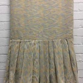 Bed Cover (D) Lemon Brushstrokes Jacquard / Valance