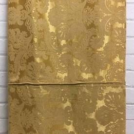Bed Cover (Q) Gold Floral Damask