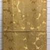Bed Cover (Q) Gold Floral Damask