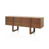 American Walnut ''dona'' Sideboard ( H: 75cm W: 193cm D: 50cm )