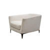 Off White Fabric 'malacorte' Armchair (80cm X 100cm X 67cm H)