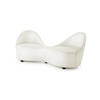 Cream Fabric 'kiss' Sofa (190cm X 69cm X 74cm H)