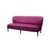 Purple Satin Lolita 2 Seater Sofa )