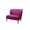 Purple Satin Lolita  Armchair With Purple Legs