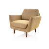 Two Tone Green Retro Armchair (85cm X 80cm X 80cm H)