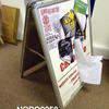 Assd Size Nobo Ali & Grey A Frame Sandwich/Notice Board