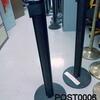 Easiline All Black Webbing Barrier Posts