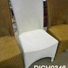White High Back Lloyd Loom Chair