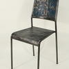Galvanised Steel Faded Blue Titanic Occ Chair