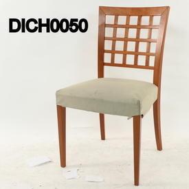 Caligaris Cherry Lattice Back Dining Chair