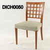 Caligaris Cherry Lattice Back Dining Chair