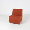 Verc Terracotta Patt. Centre Seat Unit
