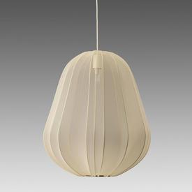 Large Ivory ''Balloon'' Hanging Lamp