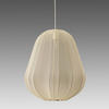 Large Ivory 'balloon' Pendant Light