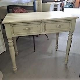 Antique White 2 Drawer Dressing Table