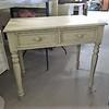 Antique White 2 Drawer Dressing Table
