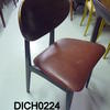 50's  G Plan B/Tola Red Vinyl Seat  Dining Chair