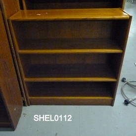 Mobler Teak 3' Shelf Unit  (50S)