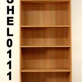 """Ffc Beech 6'6"""" Tall Bookcase"""