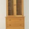 Gilbert Logan Olympic Light Oak Glazed Door Dresser Top