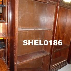 Universal 6'X3' Rosewood Stained Bookcase