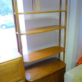 Ercol Elm 2 Door 6' X 3' Room Divider  , (Reproduction)