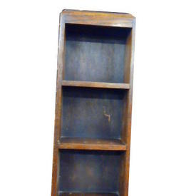 90Cm X 32Cm Dk Oak Small 4 Tier Open Top 40'S Shelf Unit