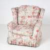 Floral Chintz Loose Cover Wing Arm Chair