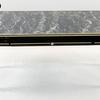 50's Black/Gilt Black Mottle Top Rect 1 Drawer Coffee Table