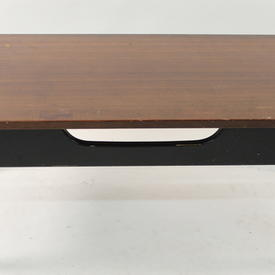 Rect 3' Black And Tola Coffee Table