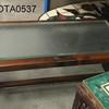 120cm X 60cm Dark Wood/Inset Frosted Glass Top Santiago Coffee Table